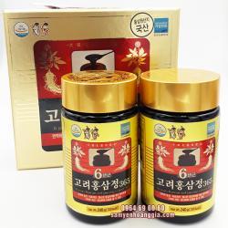 Cao hồng sâm Hàn Quốc 365 hộp 2 lọ x 240g