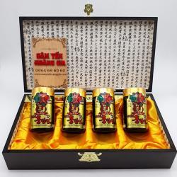 Cao hồng sâm Hàn Quốc hộp gỗ 4 lọ x 240g thượng hạng