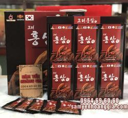 Nước hồng sâm Hàn Quốc 6 năm tuổi Pocheon hộp 30 gói x 70ml