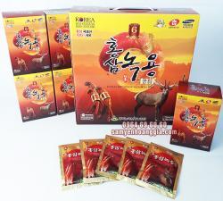 Nước hồng sâm nhung hươu Hàn Quốc hộp 30 gói x 70ml