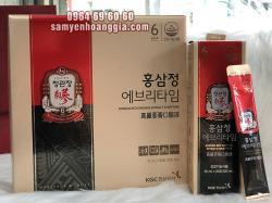 Tinh chất hồng sâm Hàn Quốc tăng lực KGC Everytime 30 gói
