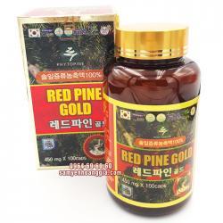 Tinh dầu thông đỏ Red Pine Gold Hàn Quốc 100 viên