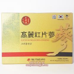 Hồng sâm khô thái lát DaeDong hộp 200g
