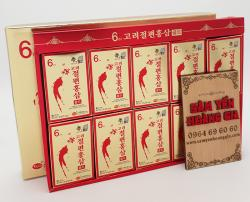 Hồng sâm lát tẩm mật ong - KGS Hàn Quốc