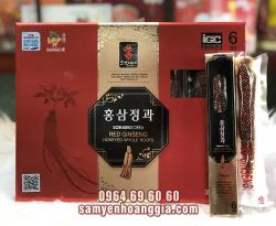 Hồng sâm nguyên củ tẩm mật ong Sobaek 300gram