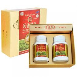 Quà Tặng Doanh Nghiệp Viên đông trùng hạ thảo Hàn Quốc Bio Apgold hộp 120 viên