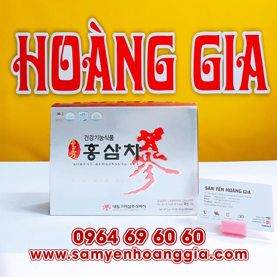 Trà hồng sâm Hàn Quốc Daedong 100 gói
