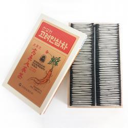 Trà nhân sâm hộp gỗ 100 gói bán chạy nhất Hàn Quốc