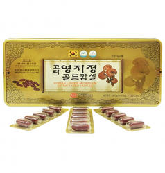 Viên linh chi Hàn Quốc KGS hộp thiếc 120 viên