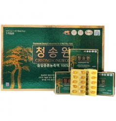 Quà Têt ý NghĩaTinh dầu thông đỏ Hàn Quốc Cheongsongwon 180 viên