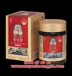 Bột hồng sâm Hàn Quốc KGC lọ 90g - Sâm chính phủ Hàn loại cao cấp