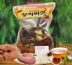 Nấm linh chi bào tử Hàn Quốc nguyên tai thượng hạng