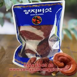 Nấm linh chi đỏ Hàn Quốc nguyên tai lớn thượng hạng túi 1kg