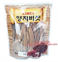 Nấm Linh Chi Hàn Quốc thái lát loại tốt bịch 500g