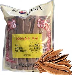 Nấm Linh Chi Hàn Quốc thái lát loại tốt bịch 1 kg