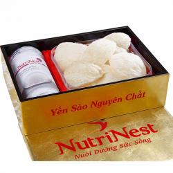 Yến sào nguyên tổ rút lông làm sạch ĐẶC BIỆT 100g Nutri Nest