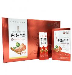 Nước lựu hồng sâm collagen Hàn Quốc Daedong hộp 30 gói x 10ml