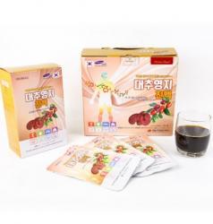 Nước linh chi táo đỏ Hàn quốc cải thiện mất ngủ hộp 15 gói x 80ml