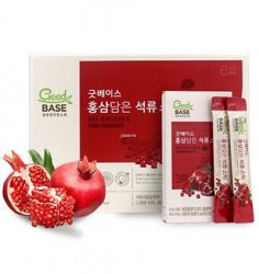 Nước lựu hồng sâm Good BASE chính phủ Hàn KGC 30 gói 10ml