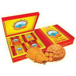 Bánh trung thu Yến Sào thập cẩm hộp 4 bánh x 200gr