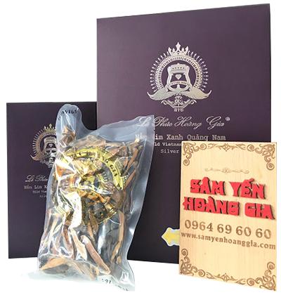 Nấm lim xanh rừng Quảng Nam thượng hạng thái lát 425g