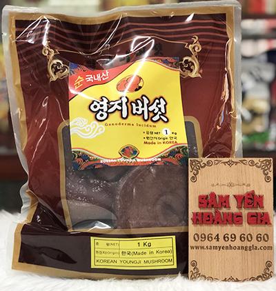 Nấm linh chi đỏ thiên nhiên Hàn Quốc bịch 1kg