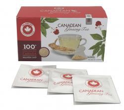 Bột sâm Canada túi lọc hãm trà hộp 24 gói